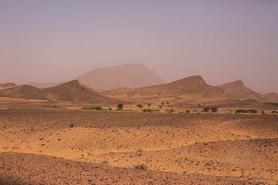 Il magnifico paesaggio marocchino