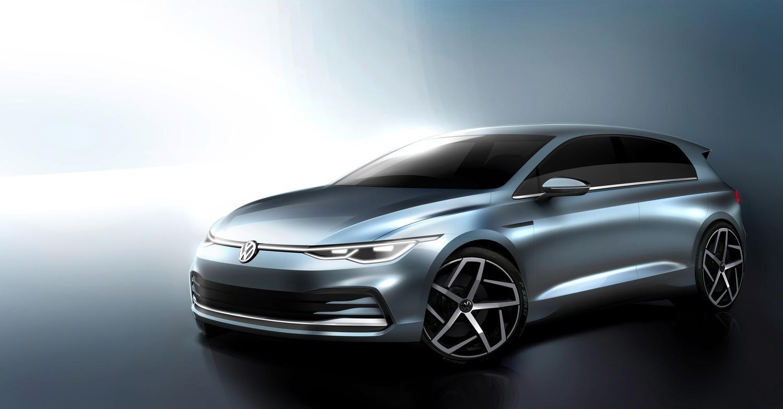 Volkswagen Golf 8: sarà presentata il 24 ottobre. I primi bozzetti ufficiali