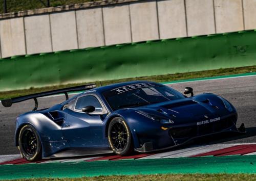 Valentino Rossi a Misano per un test con la Ferrari  (2)