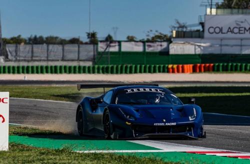 Valentino Rossi a Misano per un test con la Ferrari  (8)
