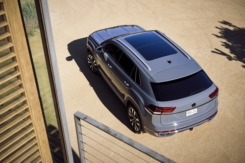 Volkswagen gamma SUV 2020: dopo Touareg viene Teramont? (3)