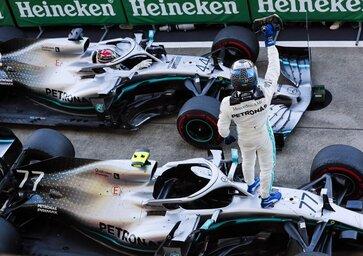 F1, GP Giappone 2019: Mercedes, sono sei titoli di fila