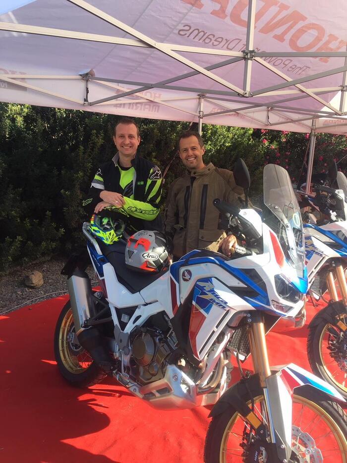 Riccardo Buffa e Marco Neri - Centro Moto Lodi