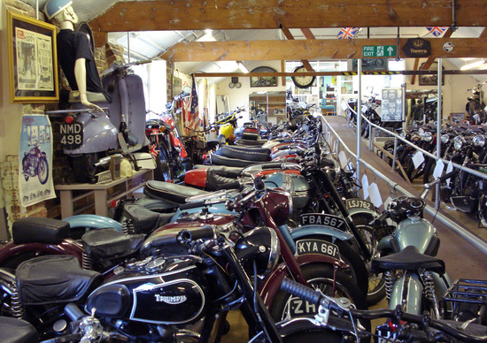 Il London Motorcycle Museum chiude i battenti e mette all'asta le moto