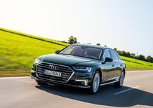 Audi A8 L 60 TFSI e quattro: la berlina di lusso si fa ibrida plug-in