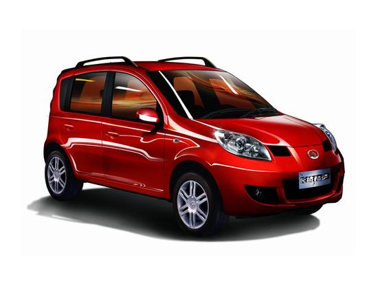 La Great Wall Peri, clone cinese della Fiat Panda. nel 2008 il Tribunale di Torino ne vietò l'importazione in Europa