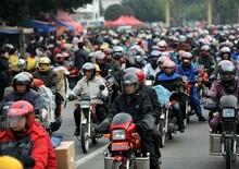 Le vendite cinesi riprendono dopo che le moto erano state vietate in città