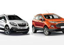 Quale comprare, Confronto: Opel Mokka Cosmo 1.4 Turbo Ecotec Vs Ford Ecosport 1.0 Ecoboost Titanium S