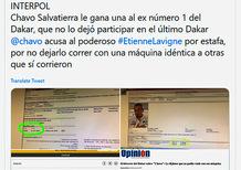 """Dakar 2019-Salvatierra. Non è finita qui. Lavigne """"ricercato""""?"""