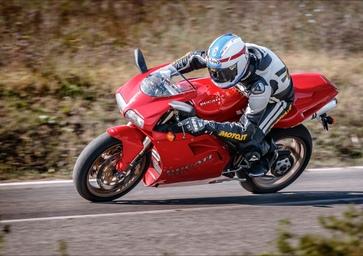 Ducati 916 TEST Youngtimer: il mito degli anni 90