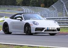 Porsche 911 GTS Cabrio: eccola al Ring [Foto spia]