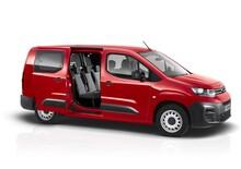 Citroën Berlingo Van: disponibile anche con doppia cabina