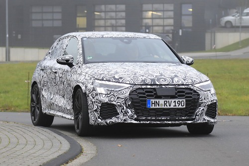 Audi RS3 2020, le foto spia