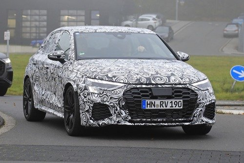 Audi RS3 2020, le foto spia (5)