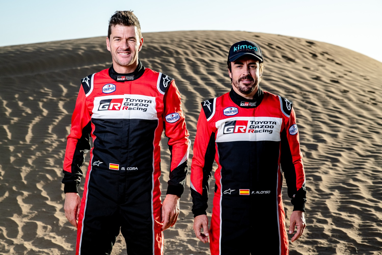 Dakar 2020. Toyota Gazoo Racing Cala il suo Poker. Alonso Ufficiale