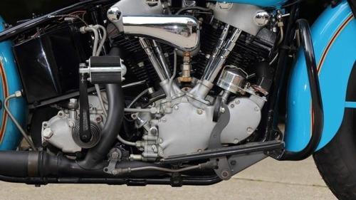 Harley Davidson Knucklehead: un esemplare del 1938 all'asta (5)
