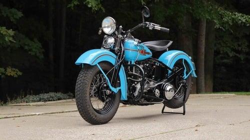 Harley Davidson Knucklehead: un esemplare del 1938 all'asta