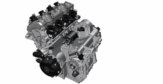 Il quattro cilindri in linea della S1000XR 2020