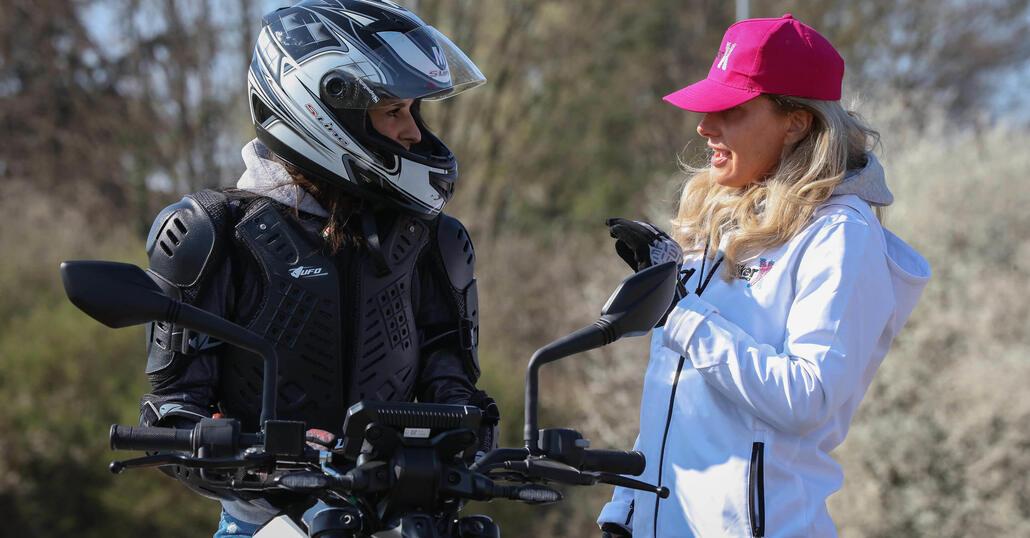 BikerX: a EICMA corsi di guida sicura per donne e giovani