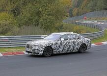 Rolls-Royce Ghost: la nuova generazione al Ring [Foto spia]
