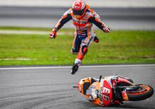 MotoGP 2019. Marc Marquez: Non volevo dare fastidio a Quartararo