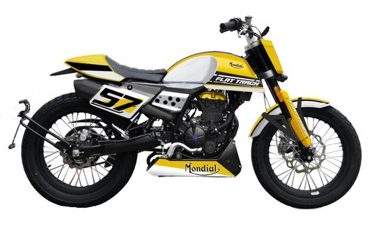 La nuova Mondial Flat Track 125 2020
