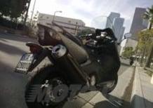 Con lo Yamaha TMAX 530 a Hollywood!