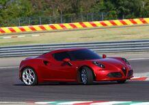 Alfa Romeo 4C: interrotta la produzione