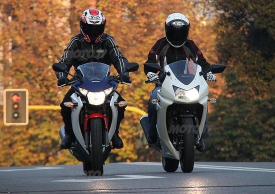 Honda CBR 250R VS Kawasaki Ninja 250R