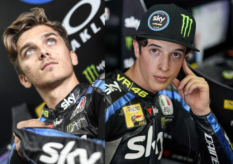 Marini e Vietti: due talenti in Moto2 e Moto3
