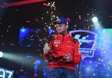 Andrea Saveri e Ducati campioni del mondo del MotoGP eSport