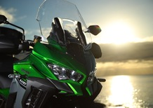 Kawasaki: kit Tourer Plus in regalo sulle Versys 650 e 1000