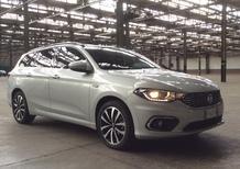 Fiat Tipo cinque porte e station wagon: scoprile LIVE