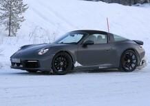 Porsche 911 Targa: ecco la 992 [Foto spia]