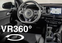 Nuovo Kia Sportage, scopri gli interni nel video a 360°