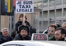 Taxi: a Milano sciopero spontaneo contro Uber