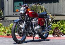 Honda CB750 Sandcast: una delle prime best seller del marchio giapponese all'asta
