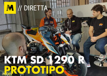 KTM 1290 Super Duke R: il prototipo in diretta!