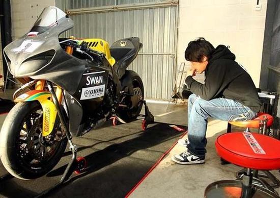 Noriyuki Haga pronto per il debutto con il team Swan Yamaha BSB