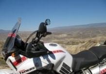 Yamaha XT1200Z Worldcrosser. Prima tappa, il deserto