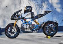 BMW R90/6: un lavoro radicale l'ha trasformata in una moto da pista