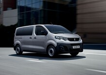 Peugeot Expert Combi: ora con il diesel 120 CV e automatico EAT8