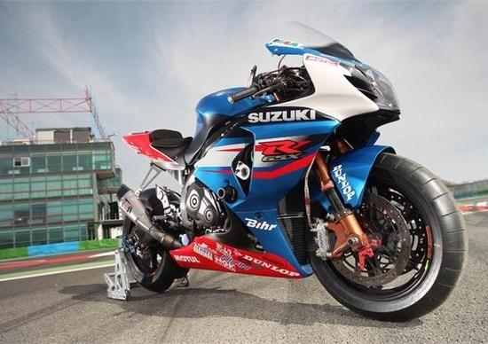 "Suzuki Sert ""roda"" la nuova GSX-R1000"