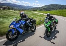 Kawasaki Z1000SX vs. Suzuki GSX-S1000 F