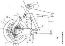 Kawasaki brevetta il mozzo sterzante. Diverso da quello di Bimota