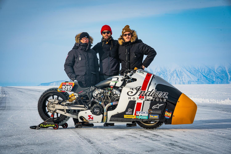 Indian Appaloosa V2.0: tenta il record di velocità in Siberia. Senza Mamola