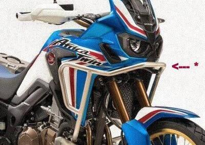 08P70MKKD00 TUBOLARE + PIASTRA MOTORE Africa Twin Honda - Annuncio 8010394
