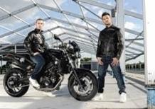 Melandri e Fabrizio presentano a Monza la BMW F 800 R in livrea all black