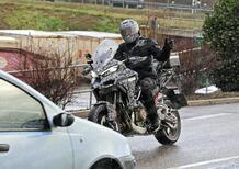 Ducati Multistrada V4, ancora foto spia