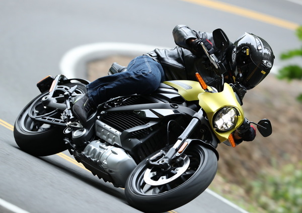 Harley-Davidson LiveWire, 1.723 km in 24 h